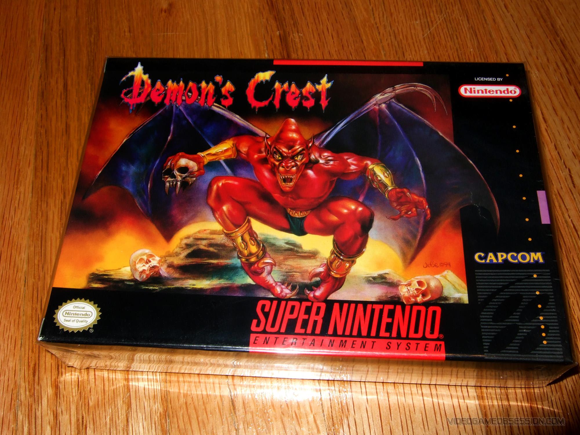 demons crest rom