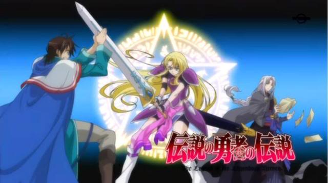 HD Quality Wallpaper | Collection: Anime, 640x357 Densetsu No Yuusha No Densetsu