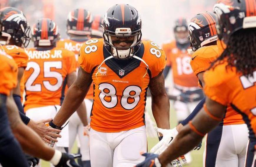 Denver Broncos Backgrounds, Compatible - PC, Mobile, Gadgets  870x570 px