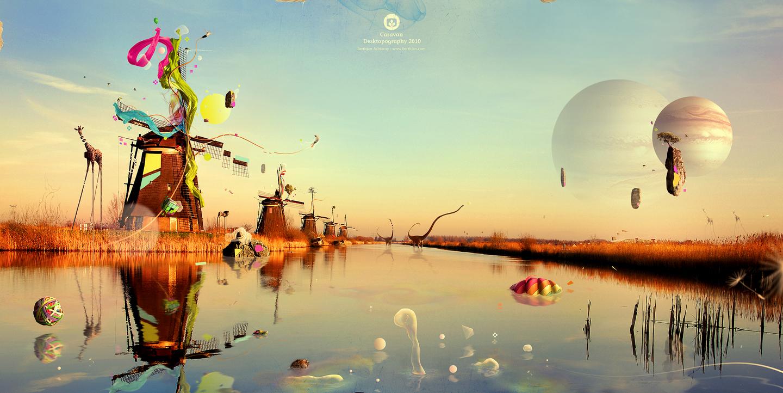 Nice Images Collection: Desktopography Desktop Wallpapers