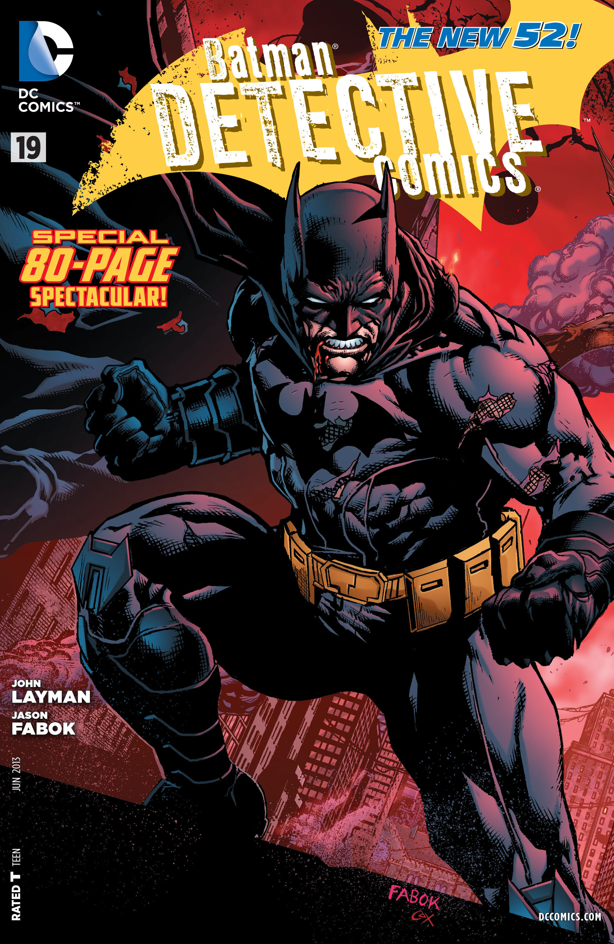 Nice wallpapers Batman: Detective Comics 1988x3056px