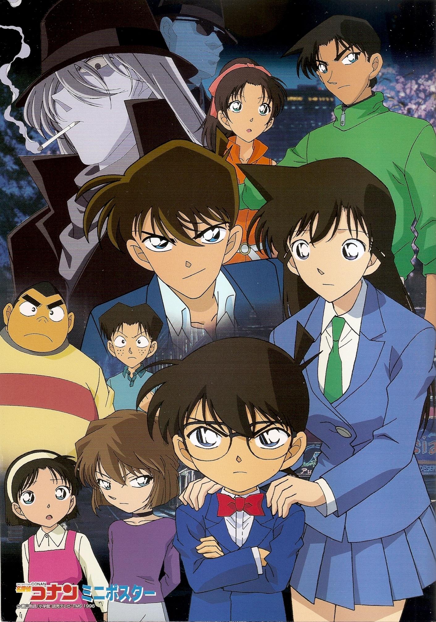 High Resolution Wallpaper   Detective Conan 1412x2015 px