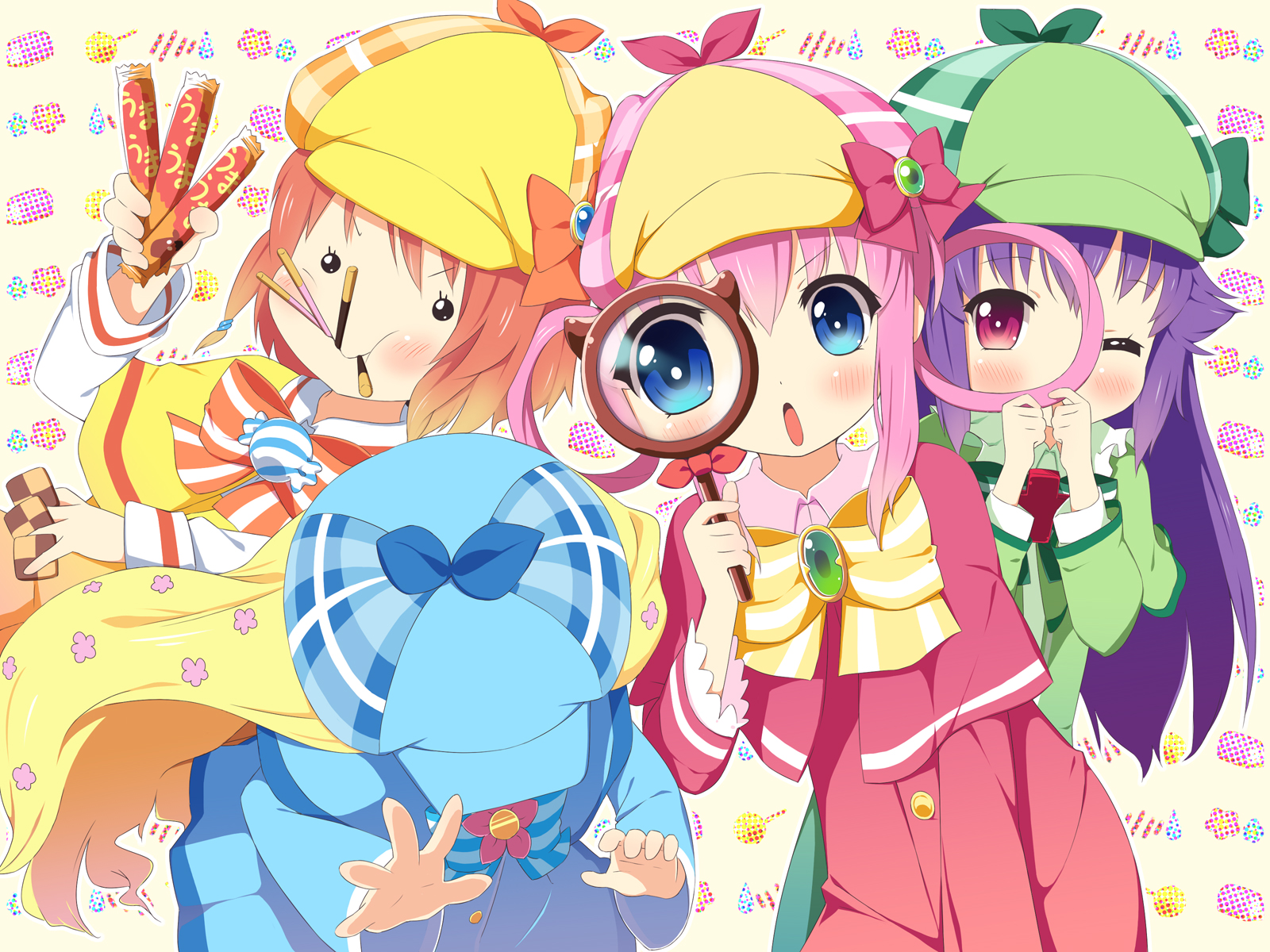 Images of Detective Opera Milky Holmes   1600x1200