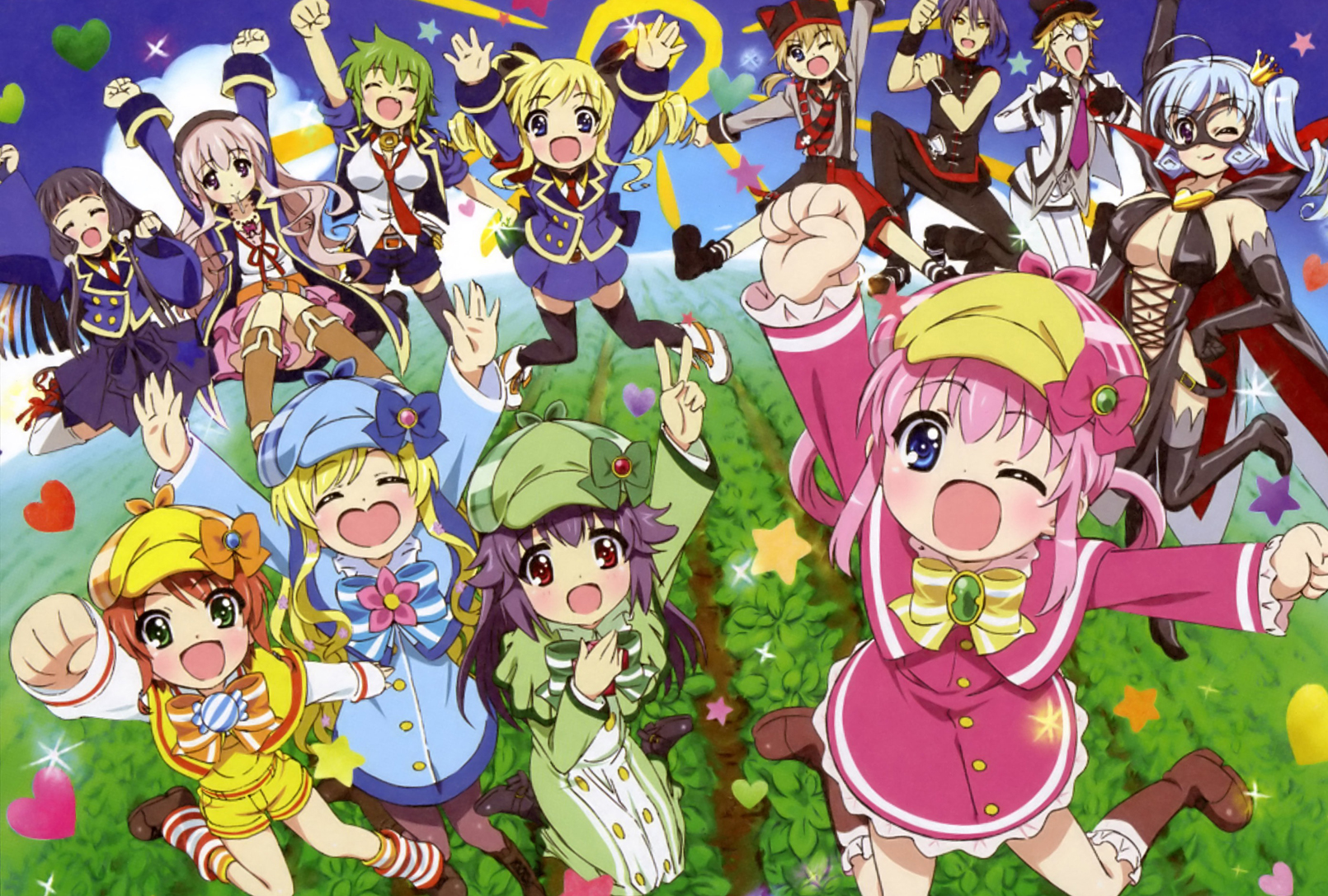 HD Quality Wallpaper   Collection: Anime, 1610x1087 Detective Opera Milky Holmes