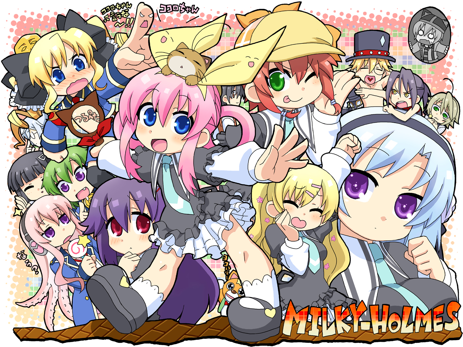 HQ Detective Opera Milky Holmes Wallpapers   File 1544.68Kb