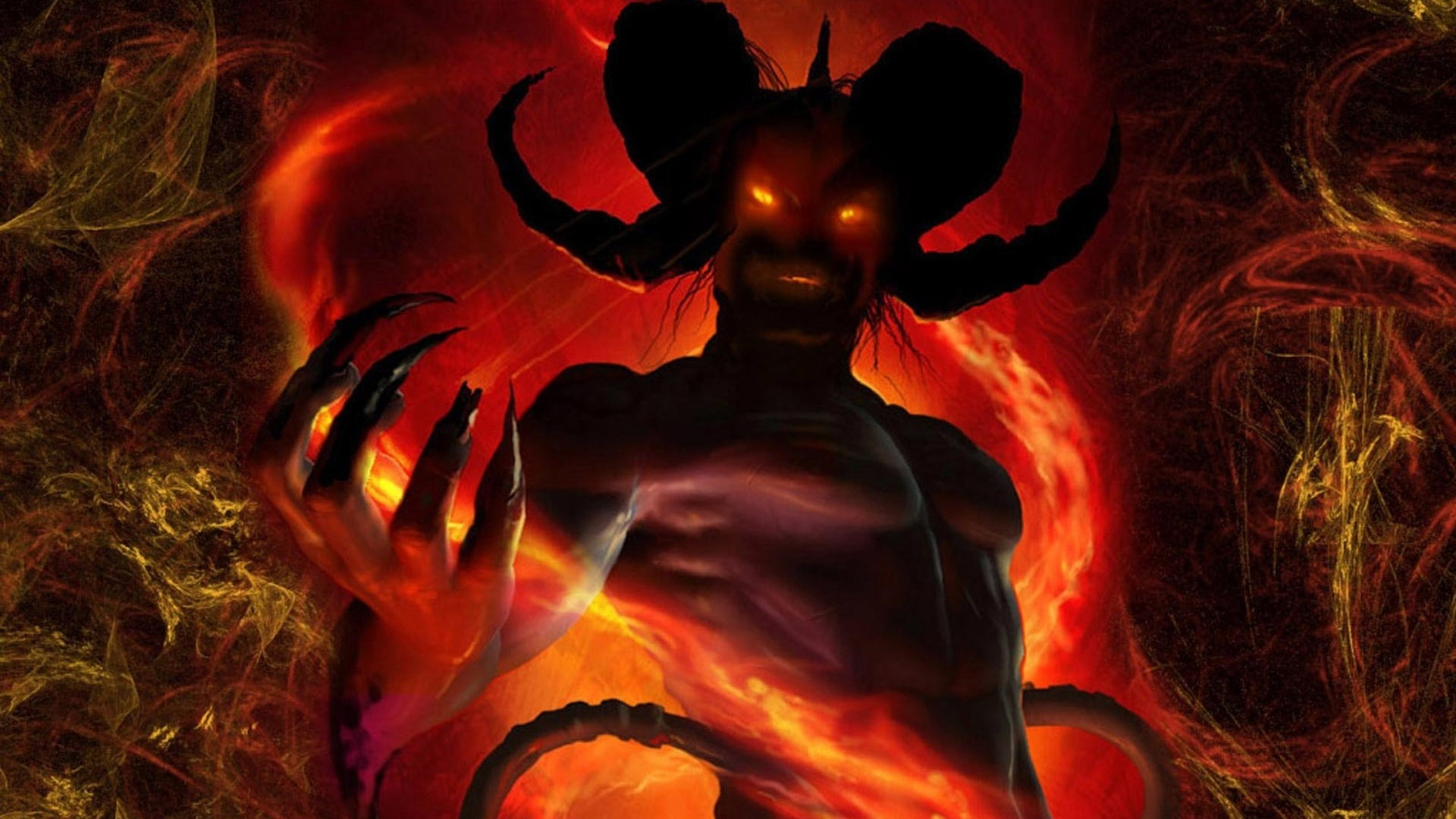 Devil Backgrounds, Compatible - PC, Mobile, Gadgets| 1920x1080 px