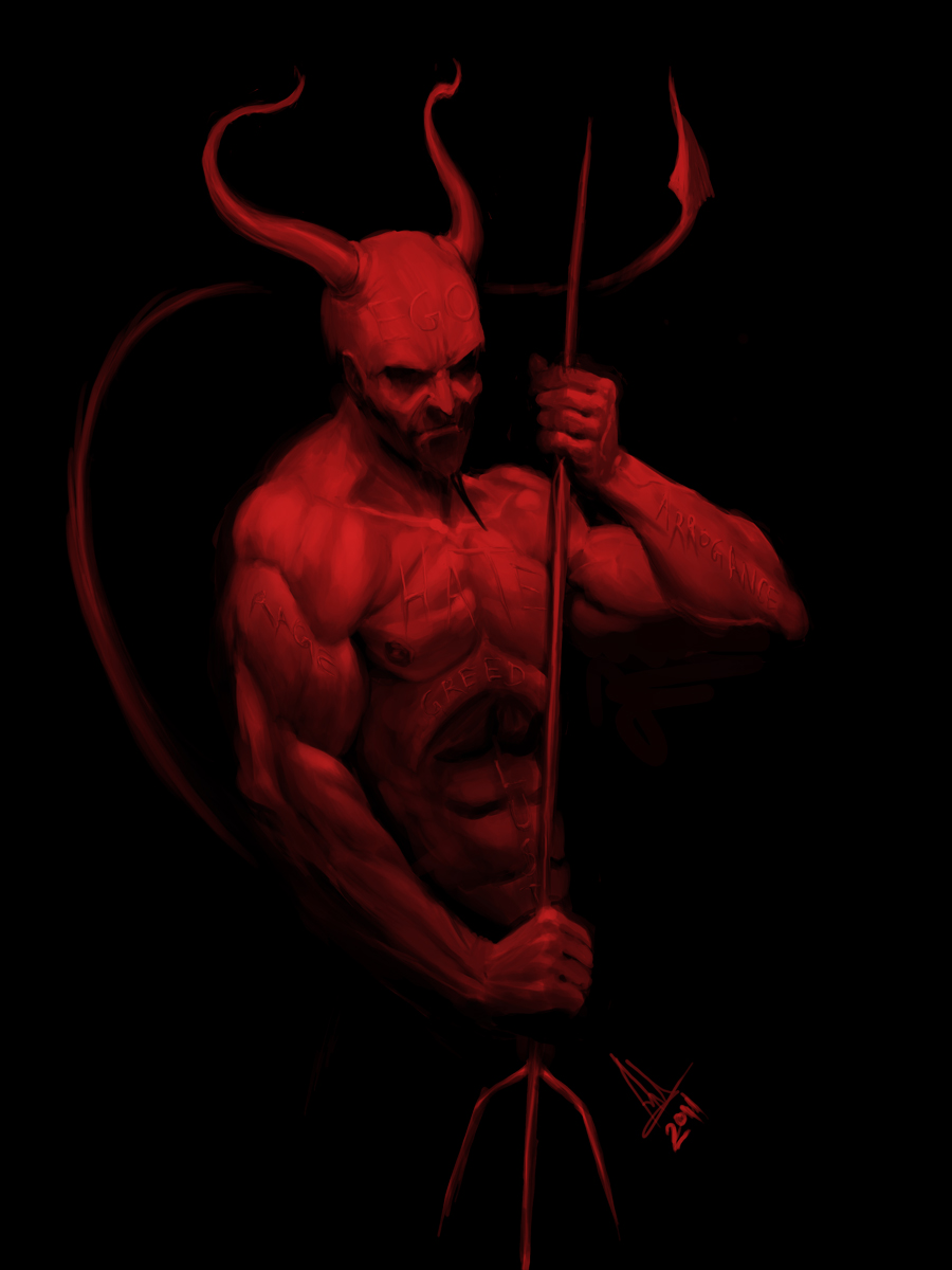 Nice Images Collection: Devil Desktop Wallpapers
