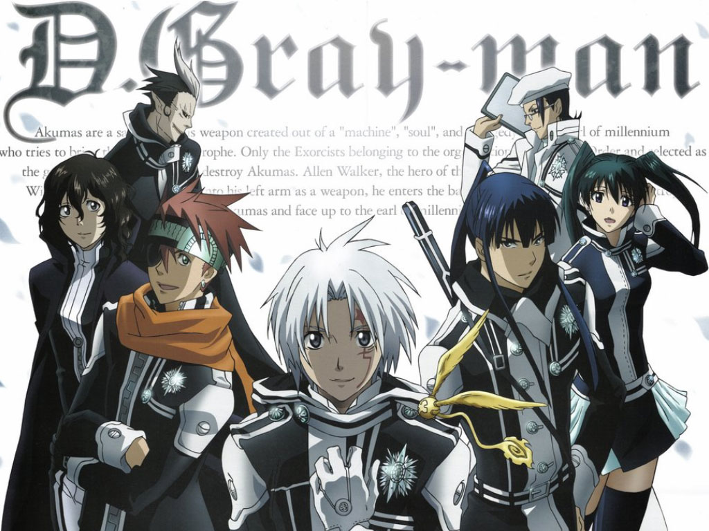 D.Gray-man High Quality Background on Wallpapers Vista