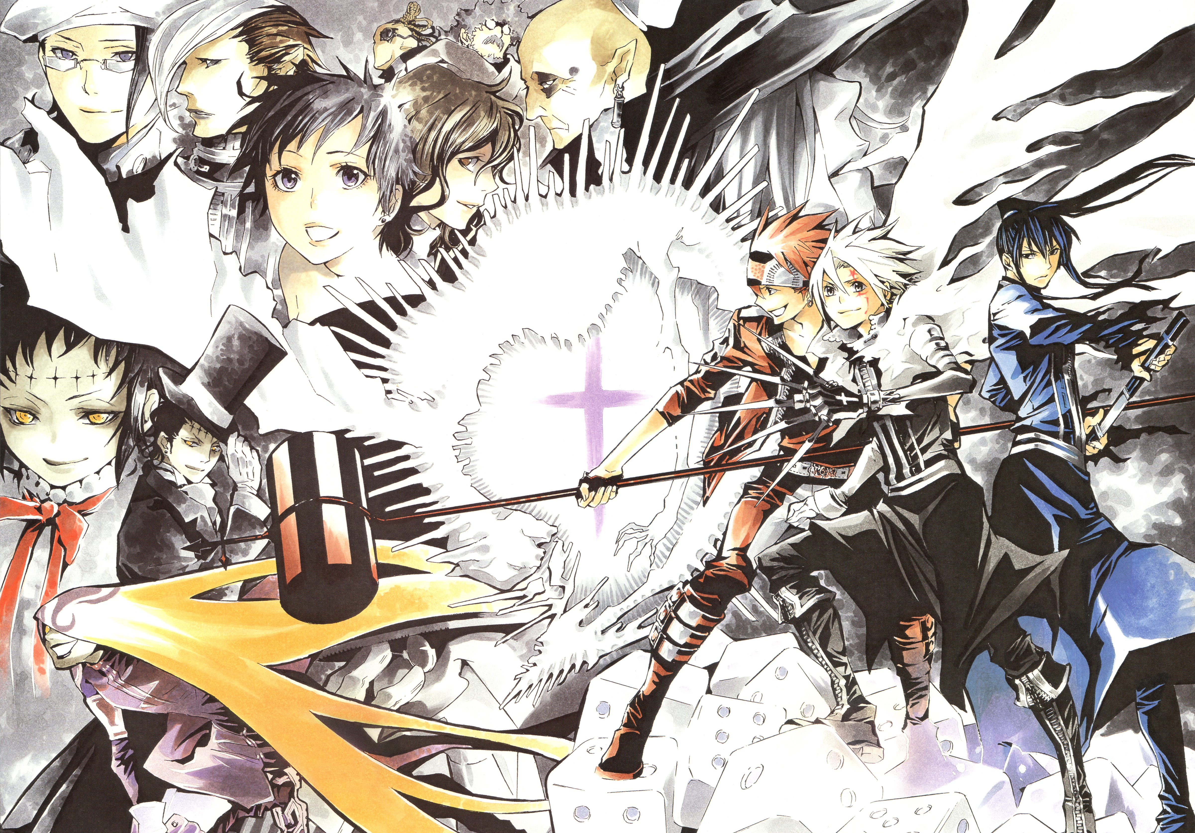 D Gray Man Wallpapers Anime Hq D Gray Man Pictures 4k Wallpapers 19