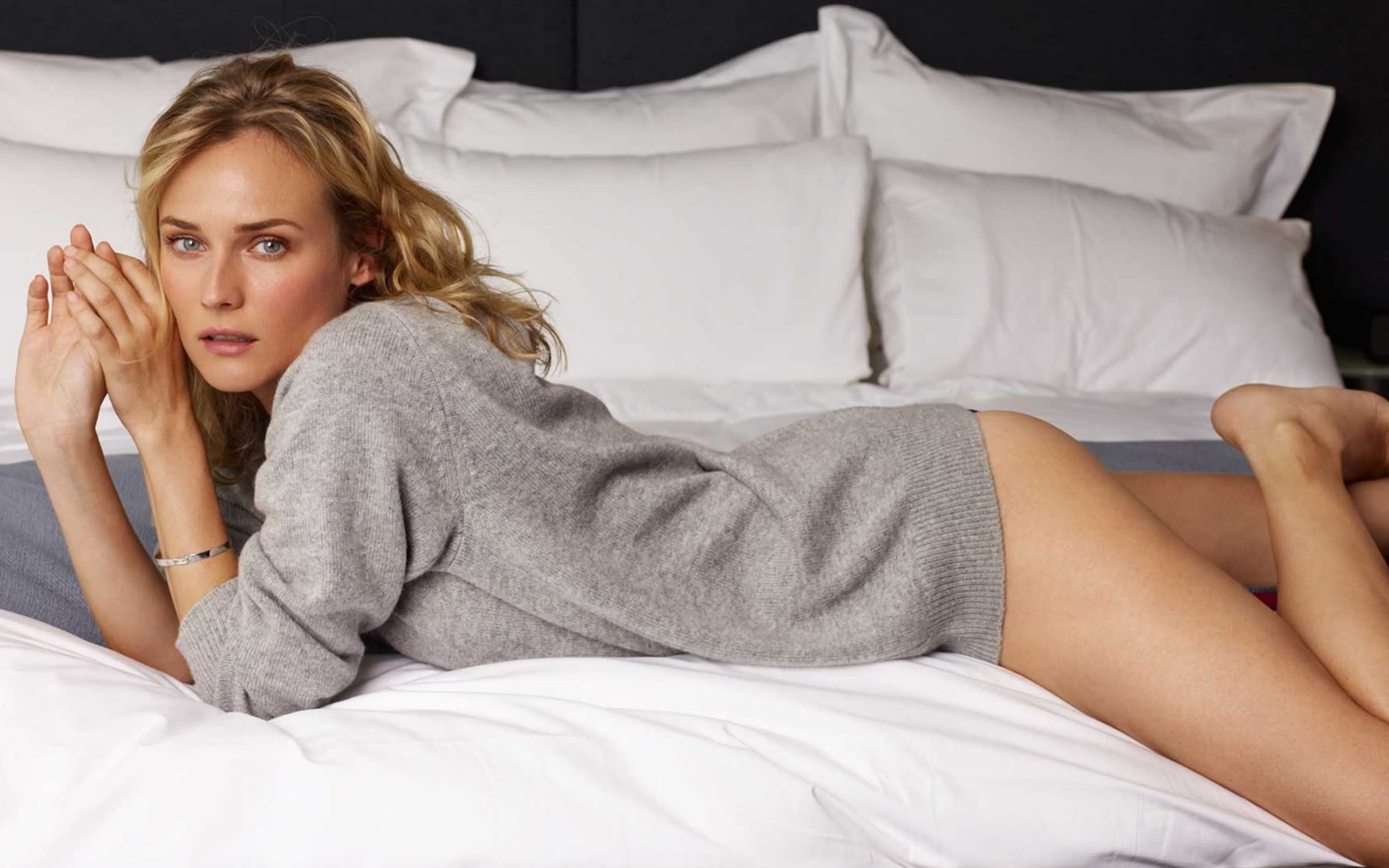 HD Quality Wallpaper   Collection: Celebrity, 2256x1410 Diane Kruger