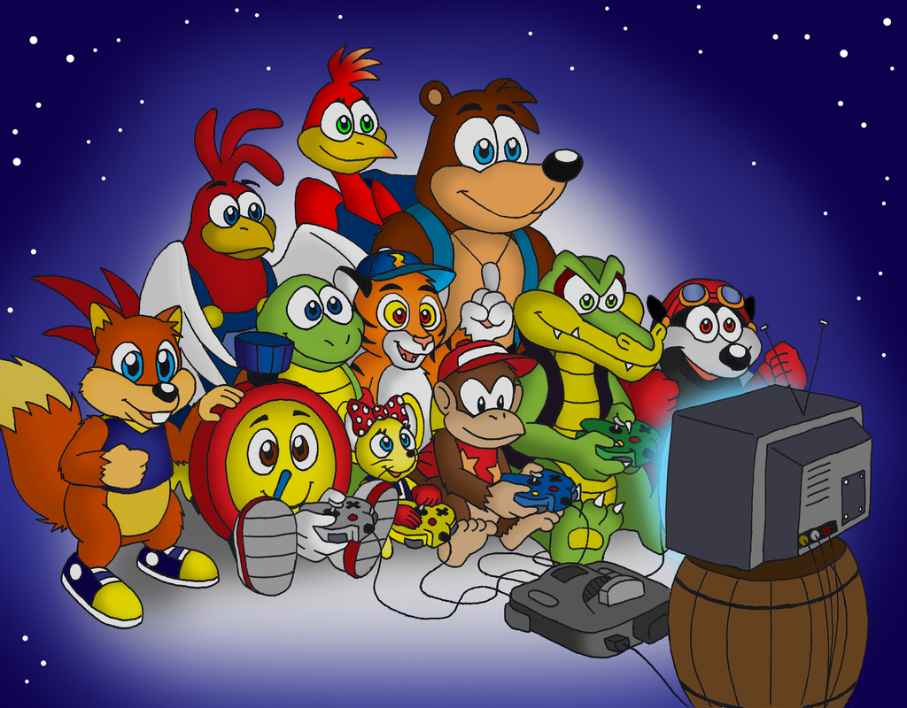 Diddy Kong Racing Wallpapers Video Game Hq Diddy Kong Racing