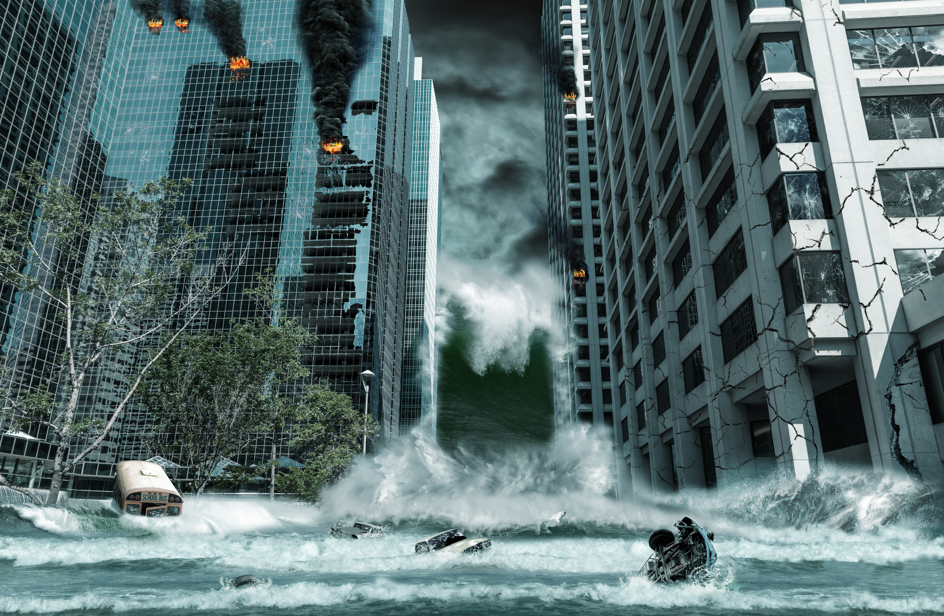 Nice wallpapers Disaster 4000x2614px