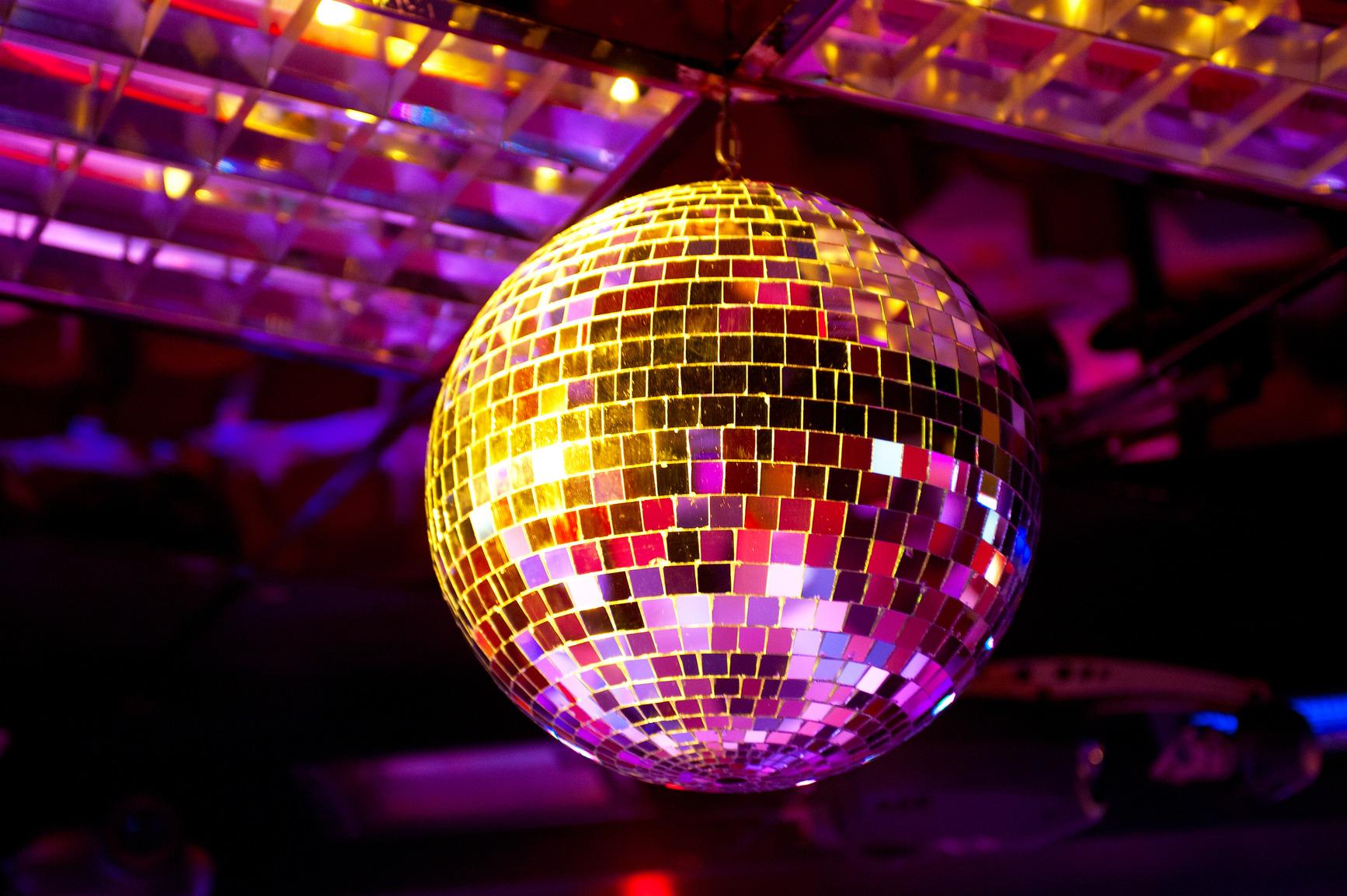 High Resolution Wallpaper | Disco Ball 1734x1154 px