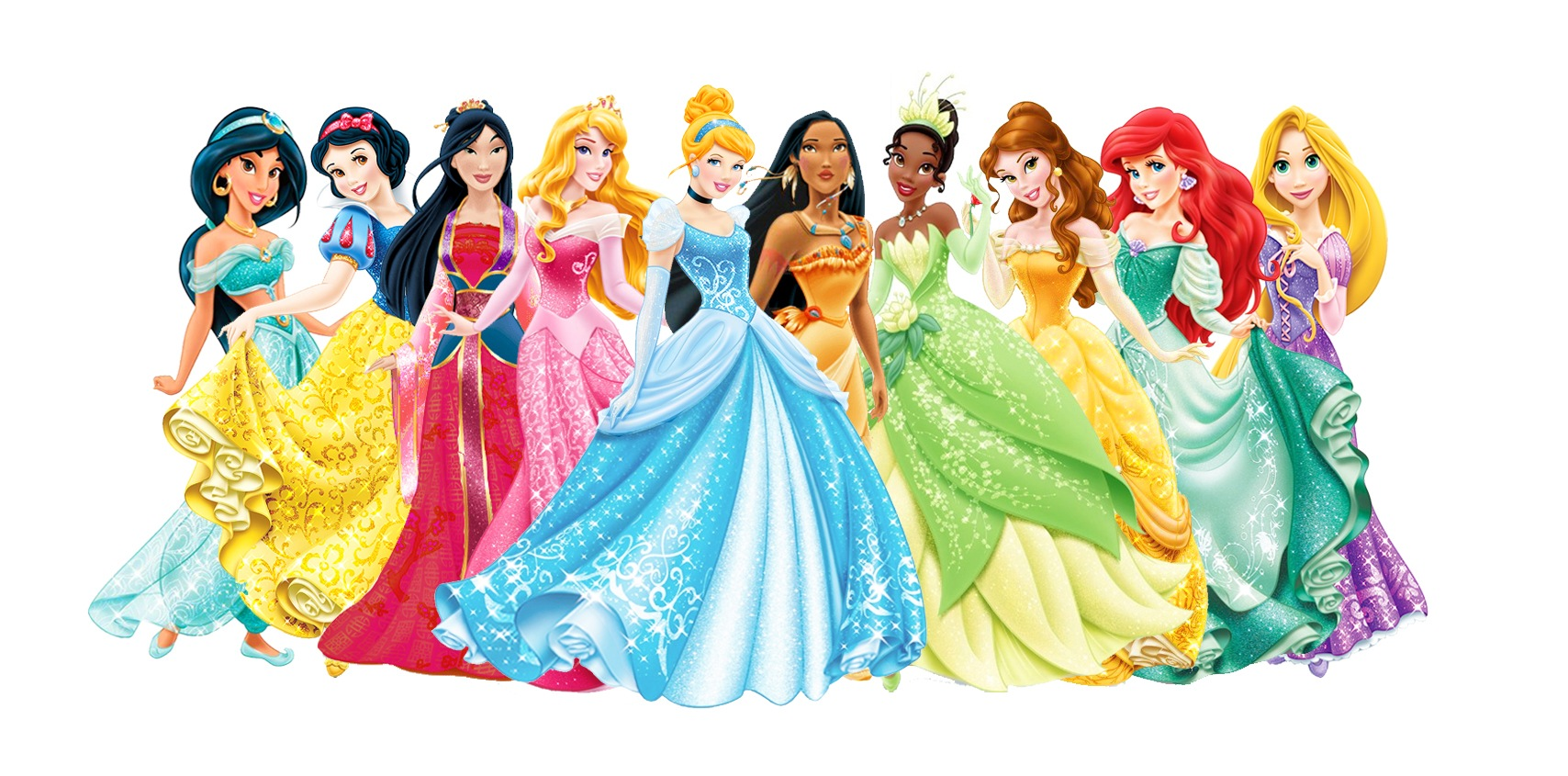 Nice wallpapers Disney Princesses 1708x845px
