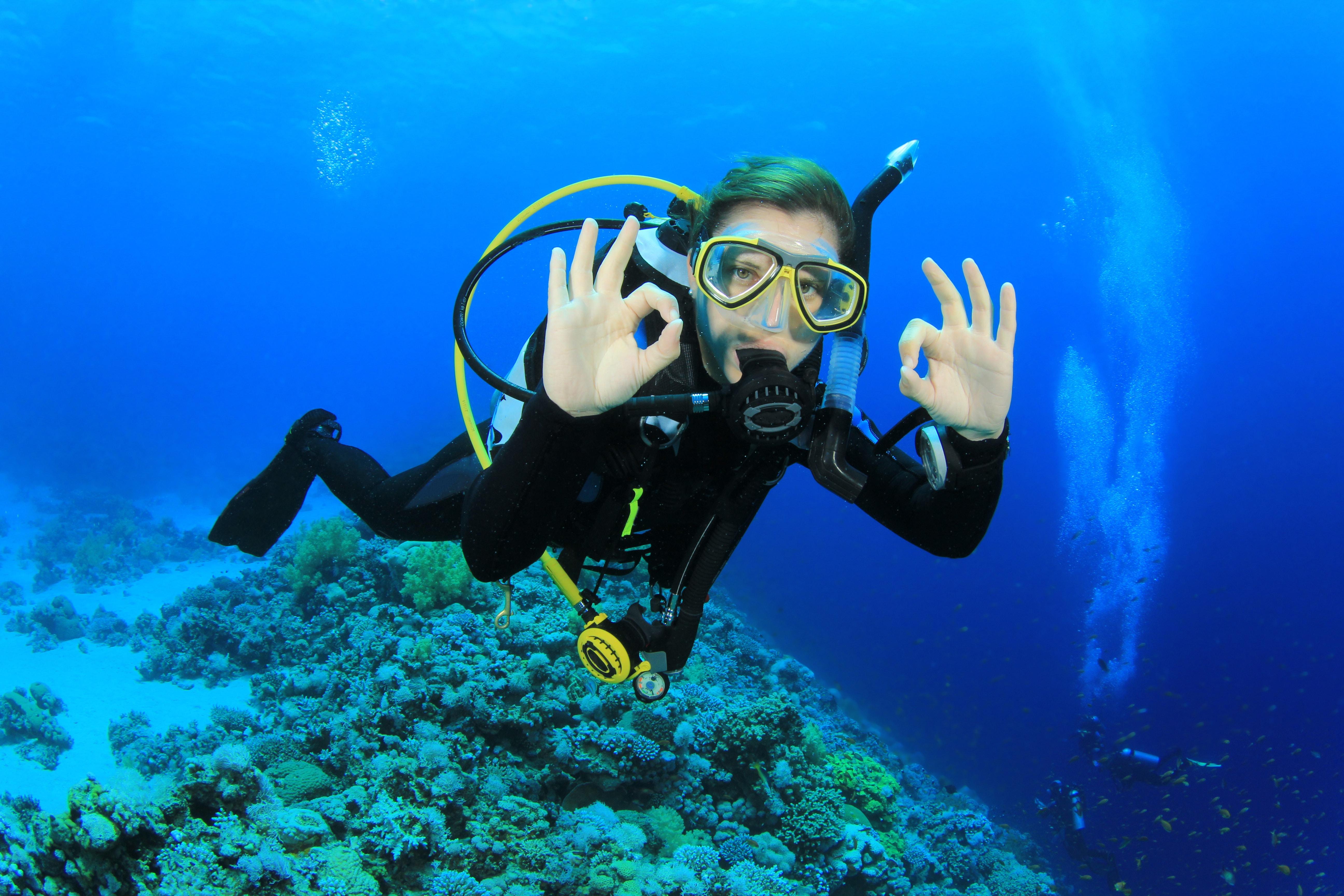 High Resolution Wallpaper | Diving 5184x3456 px