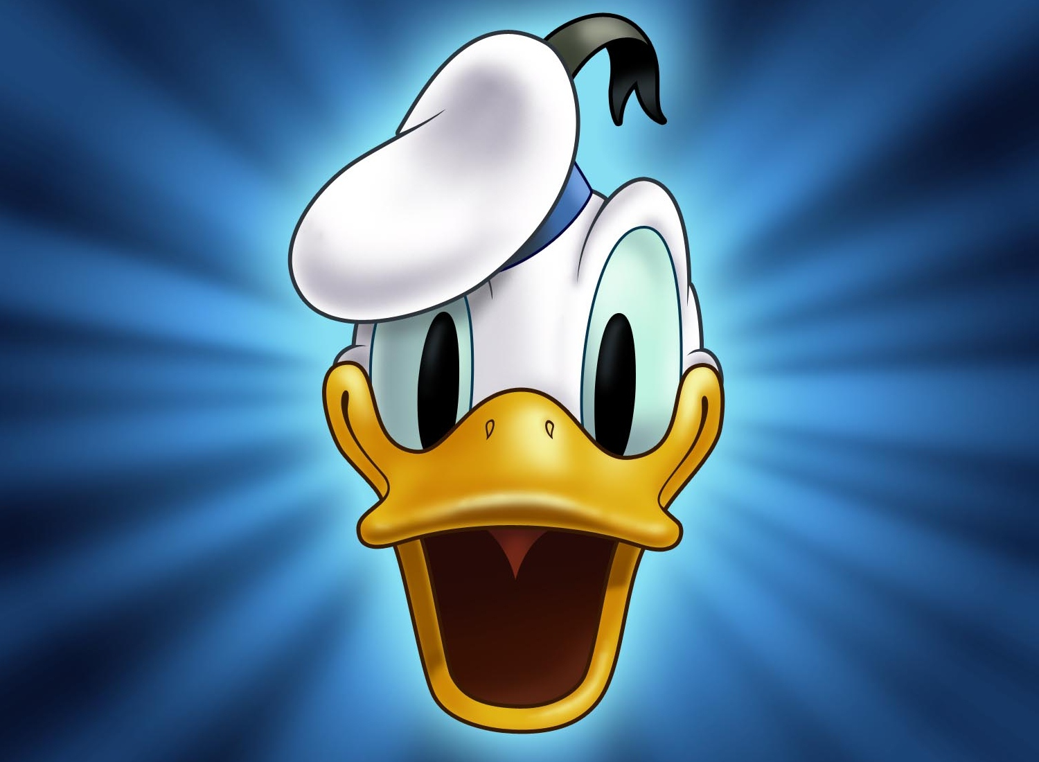 HD Quality Wallpaper | Collection: Cartoon, 1500x1100 Donald Duck