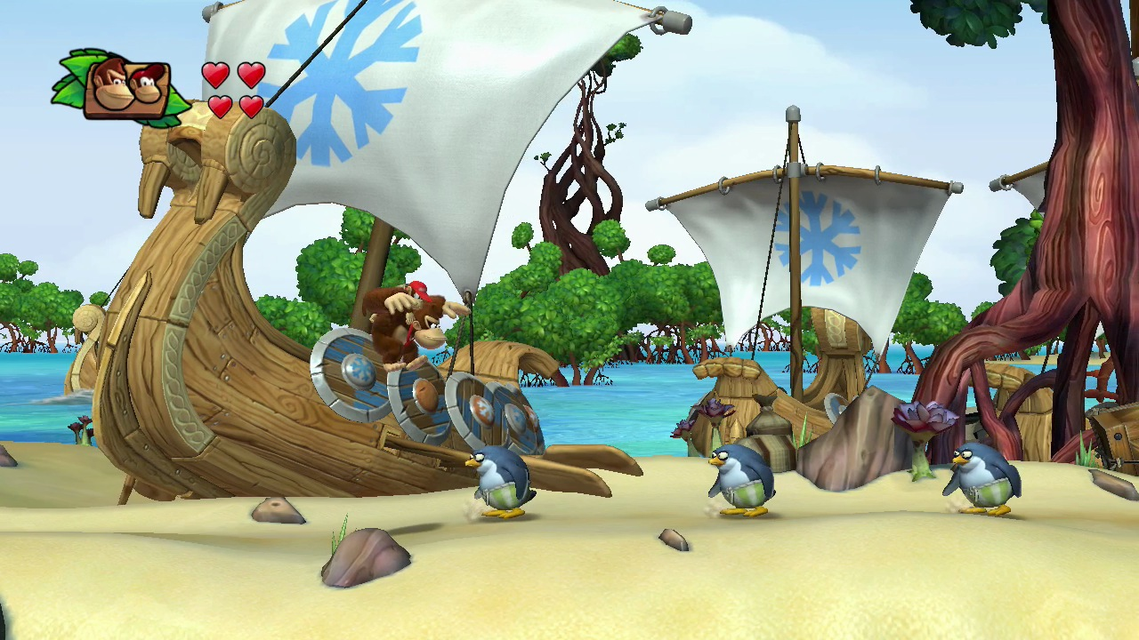 Donkey Kong Country Tropical Freeze Wallpapers Video Game Hq