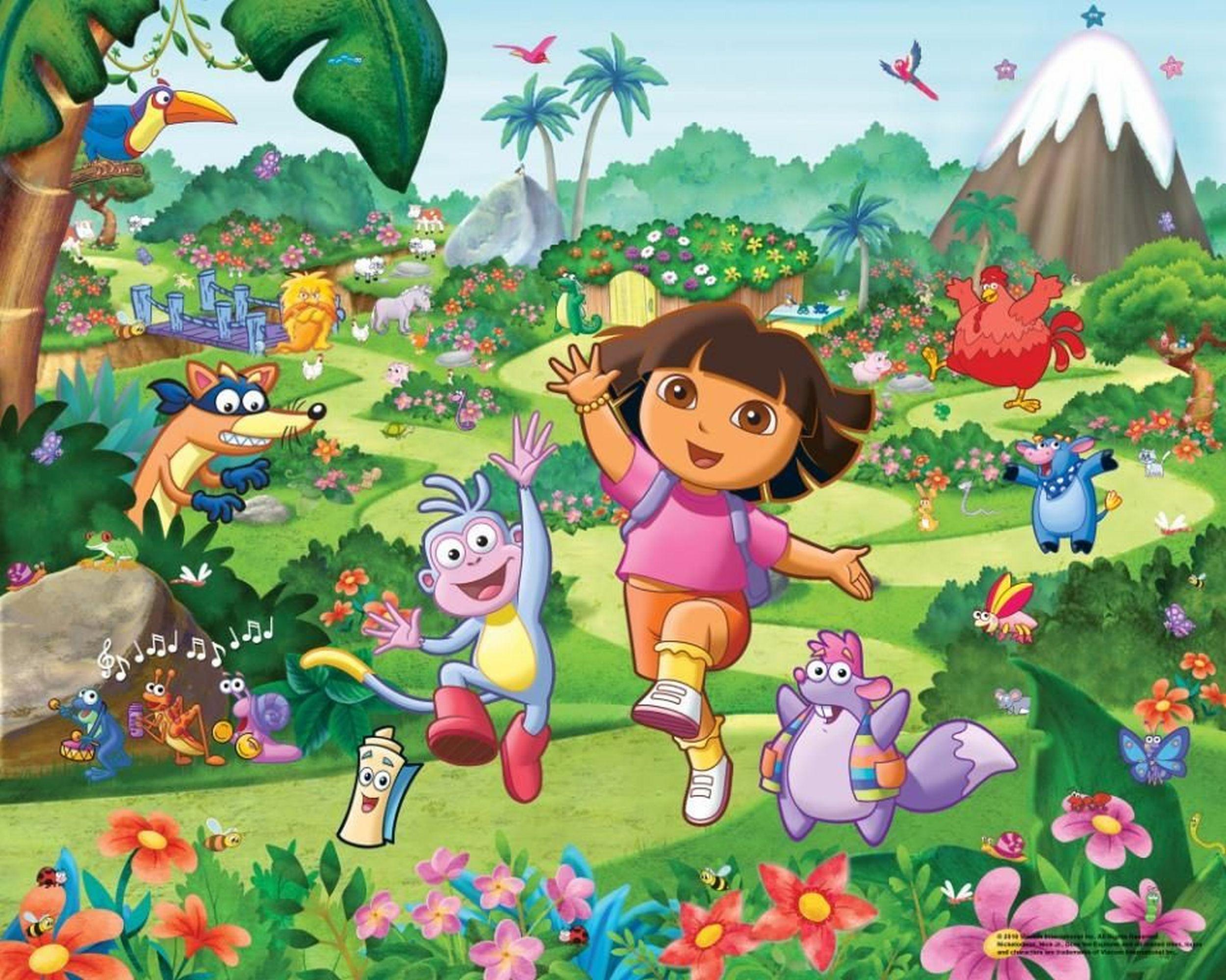 HQ Dora The Explorer Wallpapers | File 571.73Kb