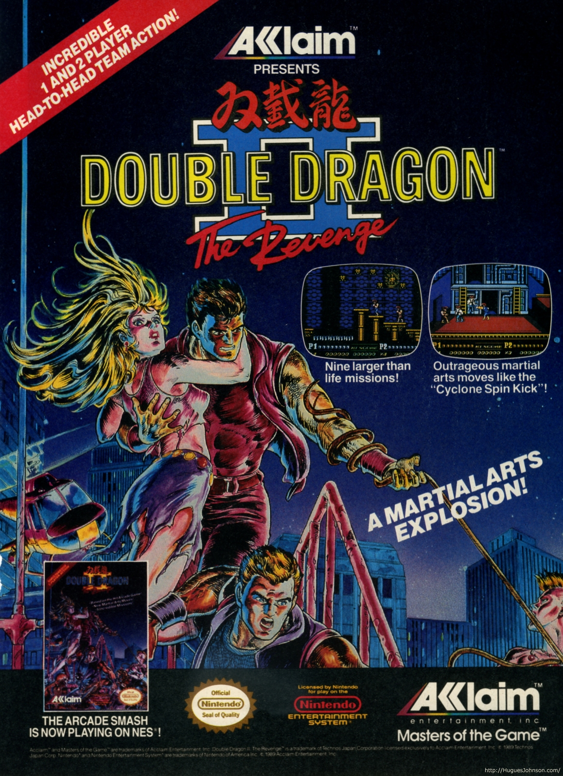 Double Dragon Ii The Revenge Wallpapers Video Game Hq Double