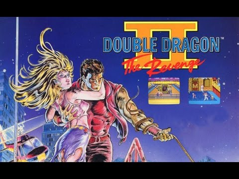 double dragon 2 nes box art