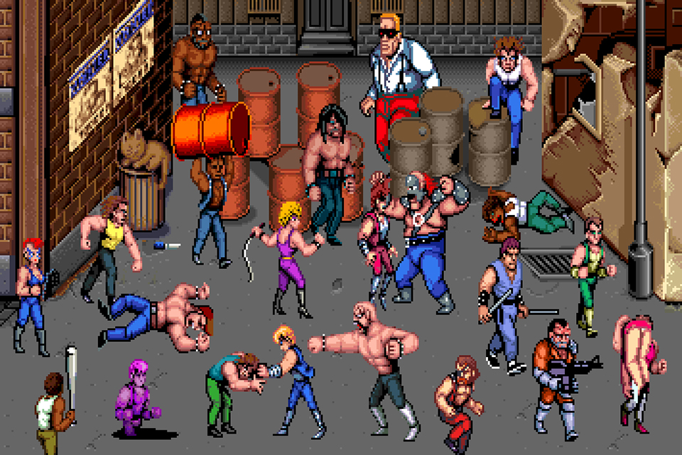 Double Dragon Wallpapers Video Game Hq Double Dragon Pictures