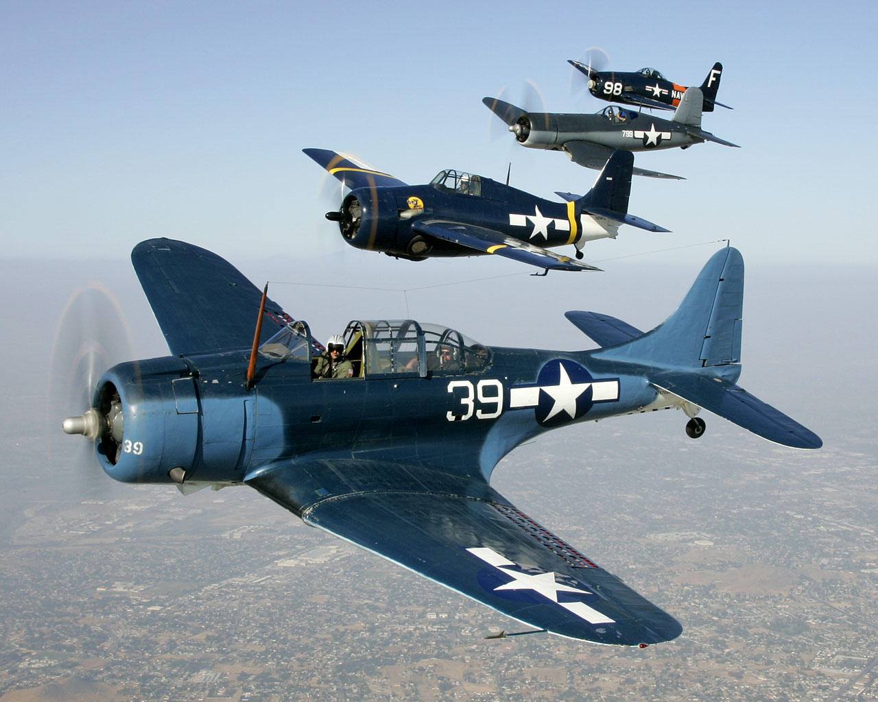 Douglas SBD Dauntless wallpapers, Military, HQ Douglas SBD