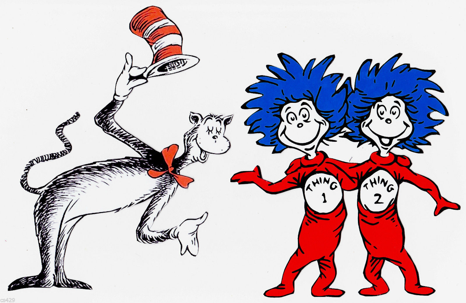 HD Quality Wallpaper | Collection: Cartoon, 1600x1043 Dr. Seuss: The Cat In The Hat