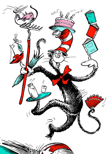 355x500 > Dr. Seuss: The Cat In The Hat Wallpapers