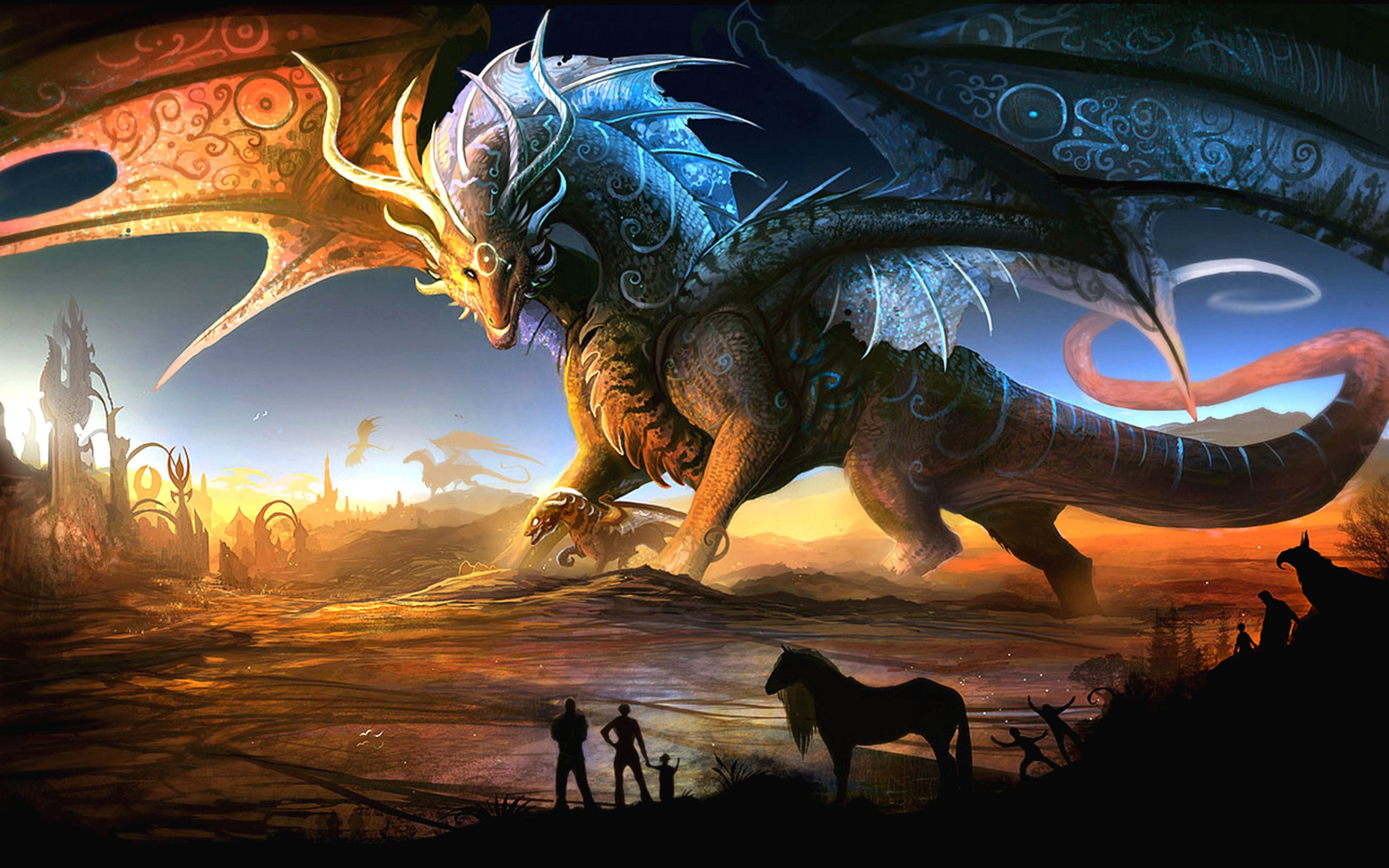 Dragon High Quality Background on Wallpapers Vista