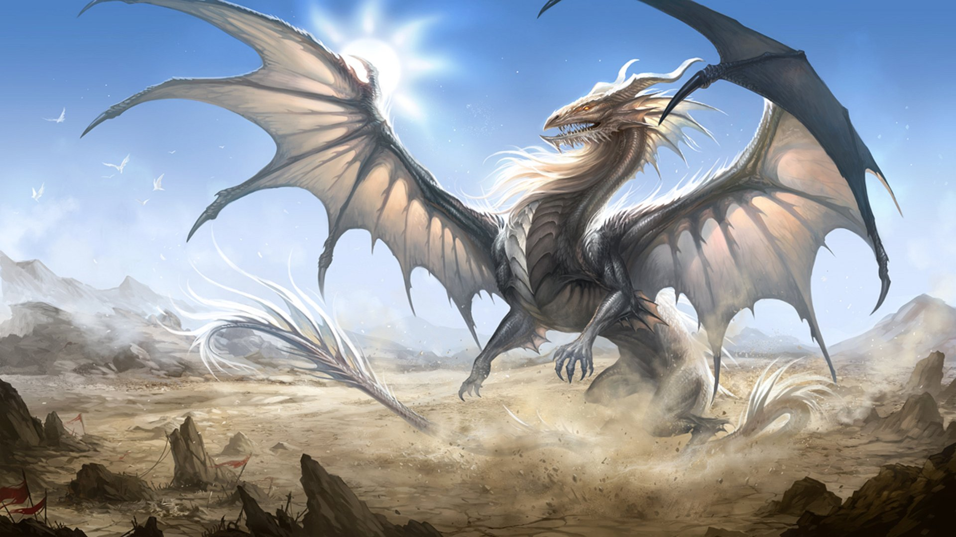 Nice Images Collection: Dragon Desktop Wallpapers