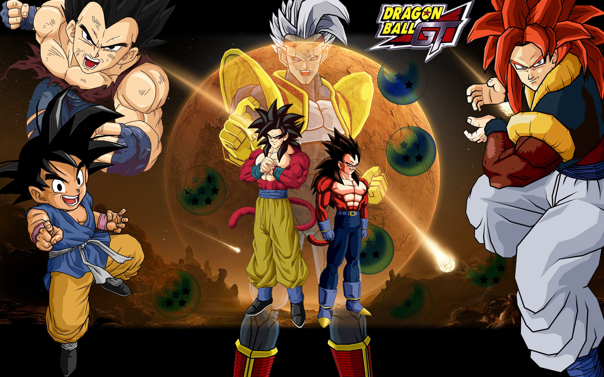 Dragon Ball GT Backgrounds, Compatible - PC, Mobile, Gadgets  1920x1200 px