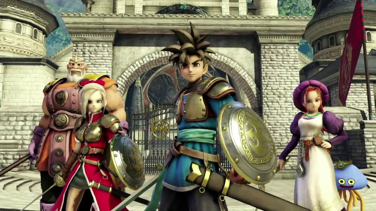 Dragon Quest Heroes Wallpapers Video Game Hq Dragon Quest Heroes