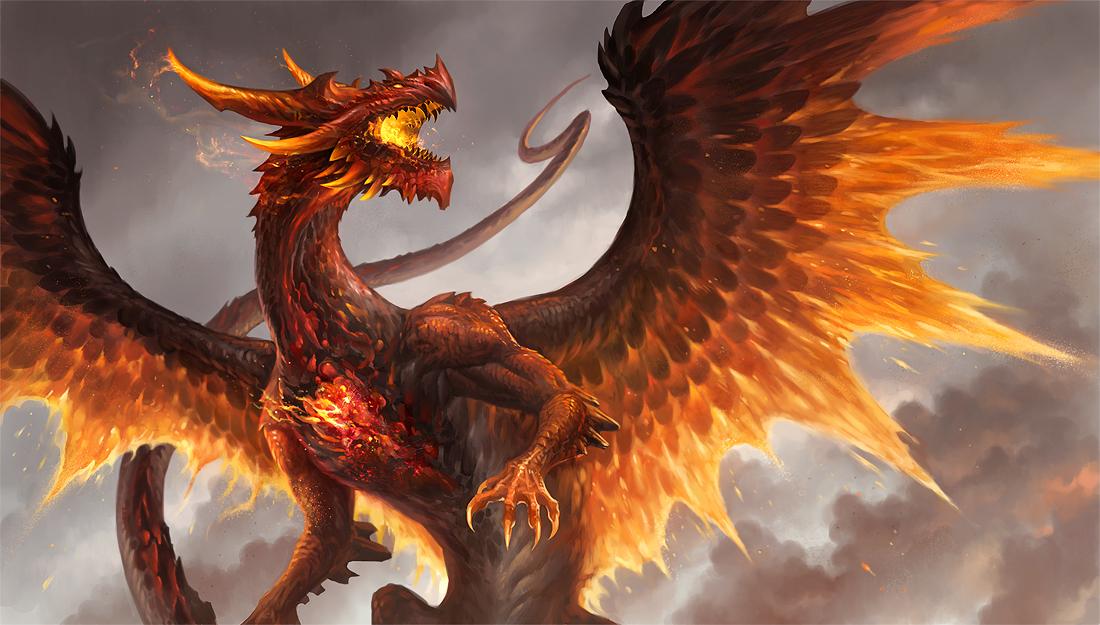 Dragon Backgrounds, Compatible - PC, Mobile, Gadgets| 1100x625 px