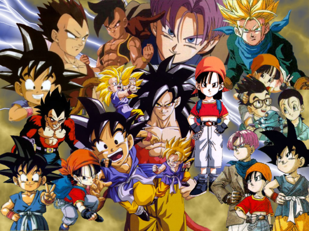 Dragonball Gt Wallpapers Anime Hq Dragonball Gt Pictures 4k