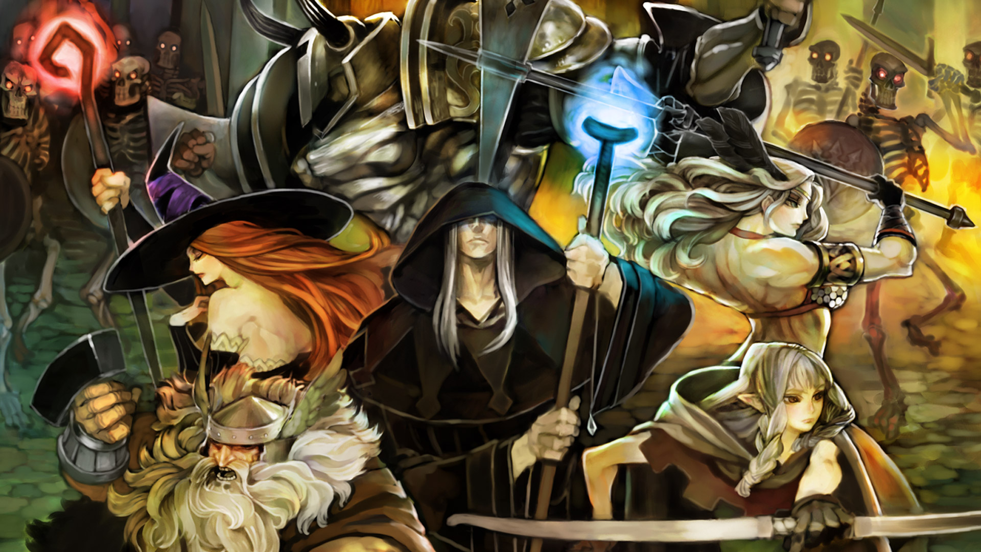 Dragon S Crown Wallpapers Video Game Hq Dragon S Crown Pictures