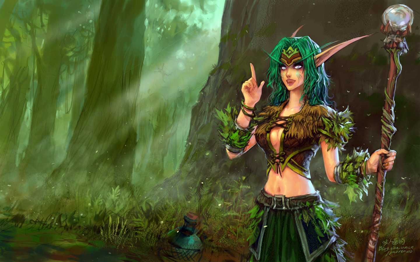 High Resolution Wallpaper | Druid 1440x900 px