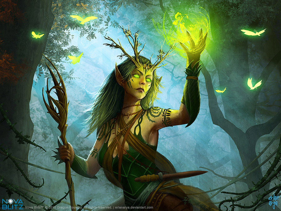 Druid High Quality Background on Wallpapers Vista