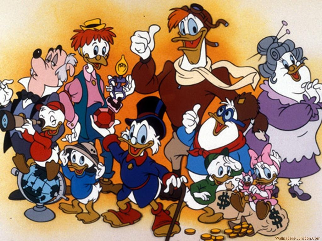 Nice Images Collection: Ducktales Desktop Wallpapers