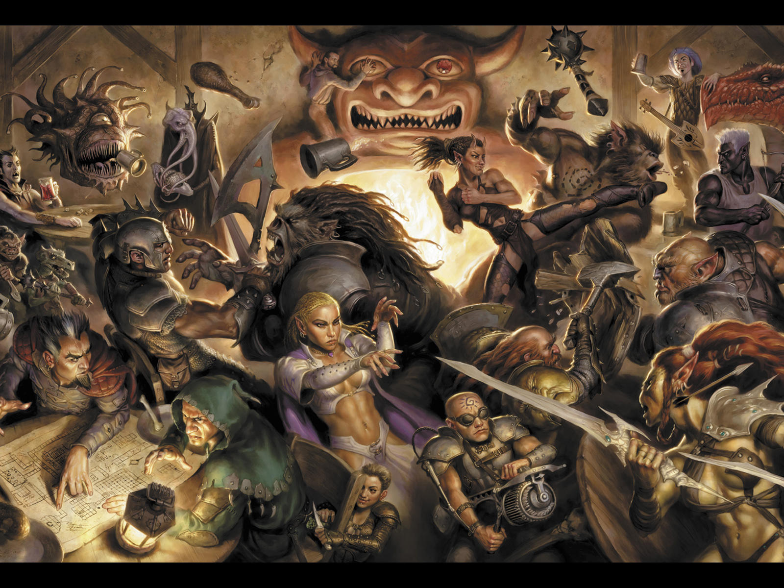 Dungeons & Dragons Backgrounds on Wallpapers Vista