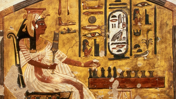 HD Quality Wallpaper | Collection: Artistic, 686x385 Egyptian