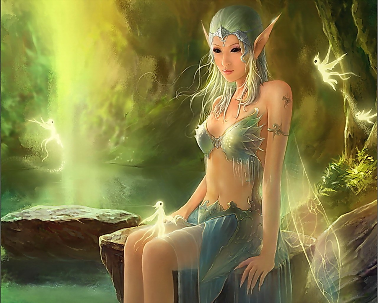 Elf Fairy Backgrounds on Wallpapers Vista