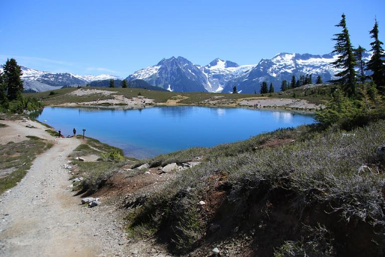 Nice Images Collection: Elfin Lake Desktop Wallpapers