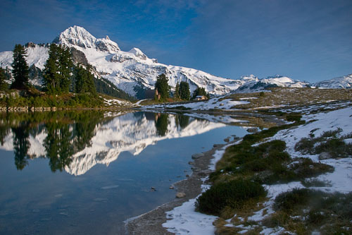 Nice wallpapers Elfin Lake 500x333px