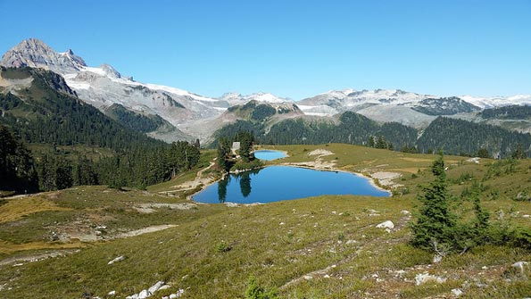 Elfin Lake Pics, Earth Collection