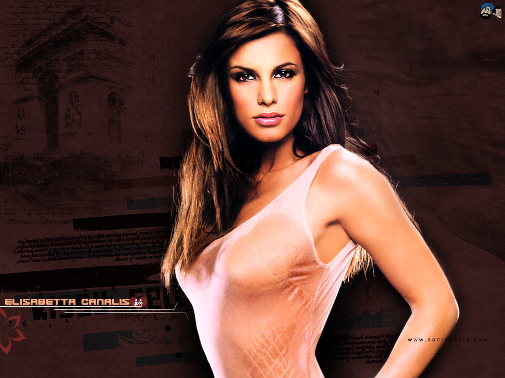 Nice Images Collection: Elisabetta Canalis Desktop Wallpapers