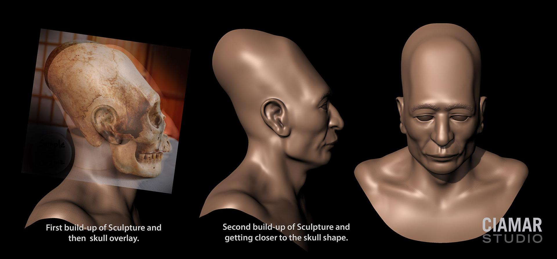 Nice wallpapers Elongated Skull 1920x893px