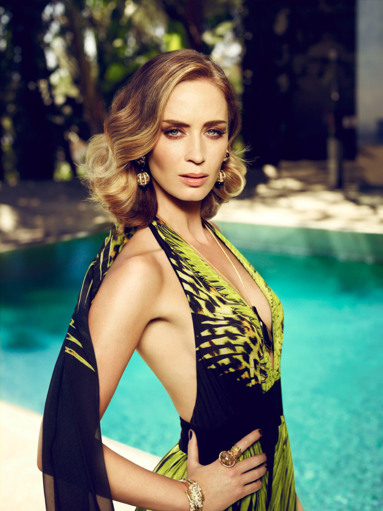 Emily Blunt Usa Today Photoshoot HD Wallpaper (3840x2400) | 1023x767
