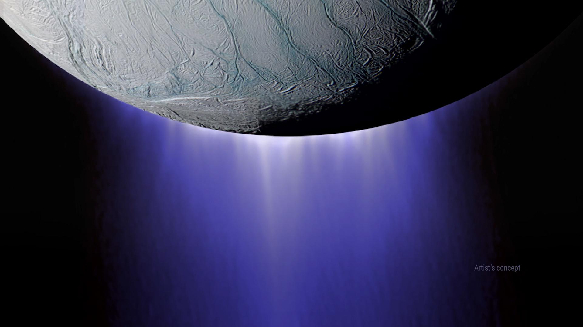 Images of Enceladus | 1920x1080
