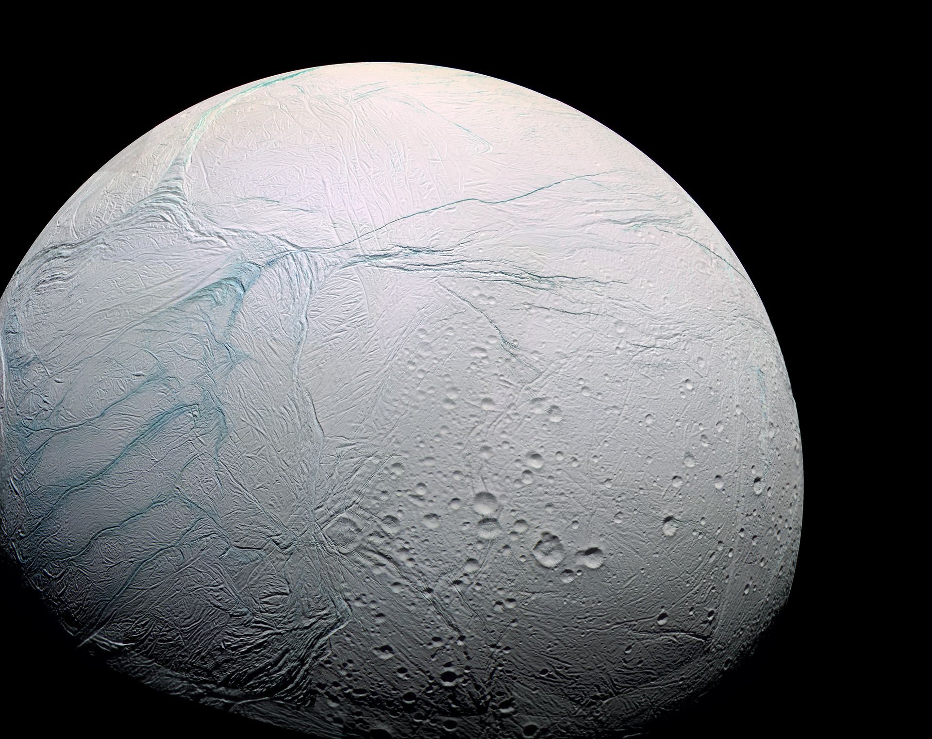 HD Quality Wallpaper | Collection: Sci Fi, 1920x1522 Enceladus