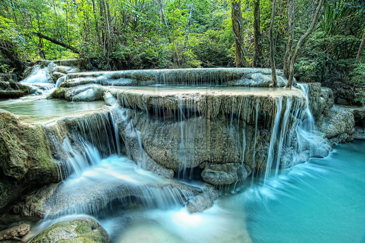 Erawan Waterfall #2